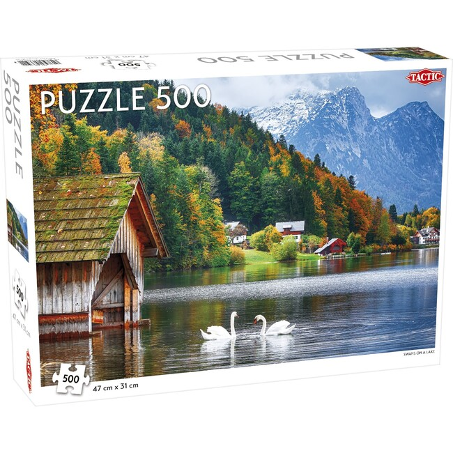 Swans on a Lake 500-Piece Puzzle