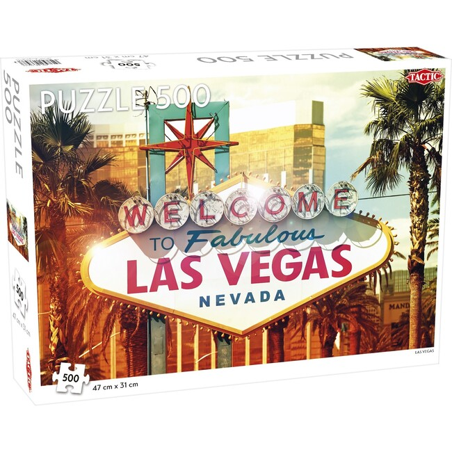Las Vegas 500-Piece Puzzle