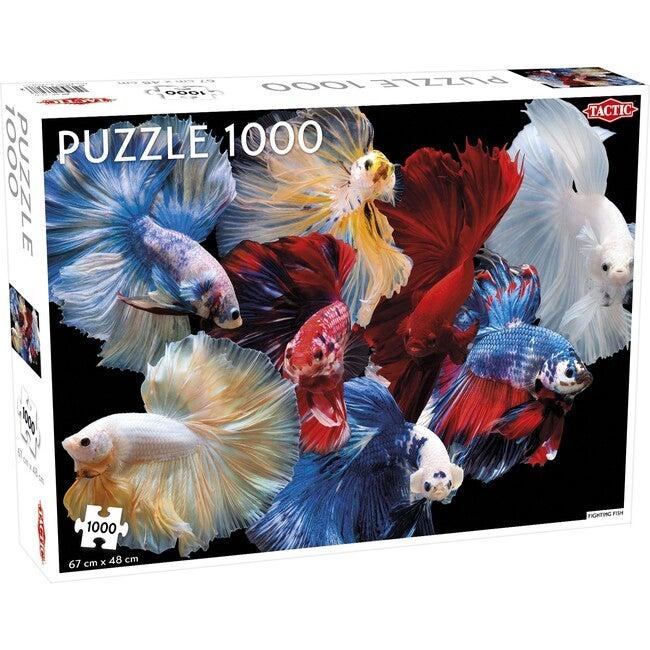 Fighting Fish 1000-Piece Puzzle
