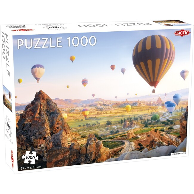 Hot Air Balloons 1000-Piece Puzzle