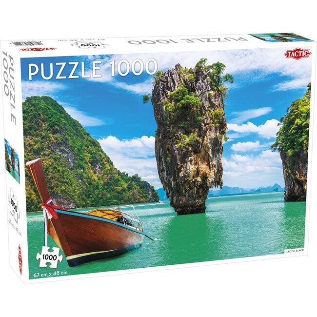 Exotic Beach 1000-Piece Puzzle
