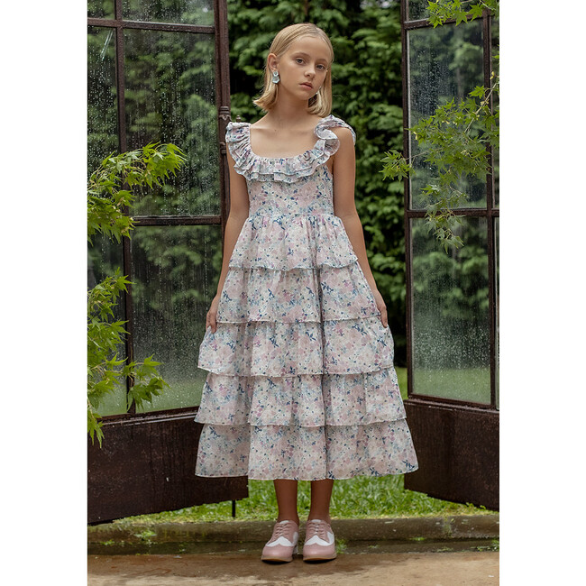 Heather Floral Maxi Dress