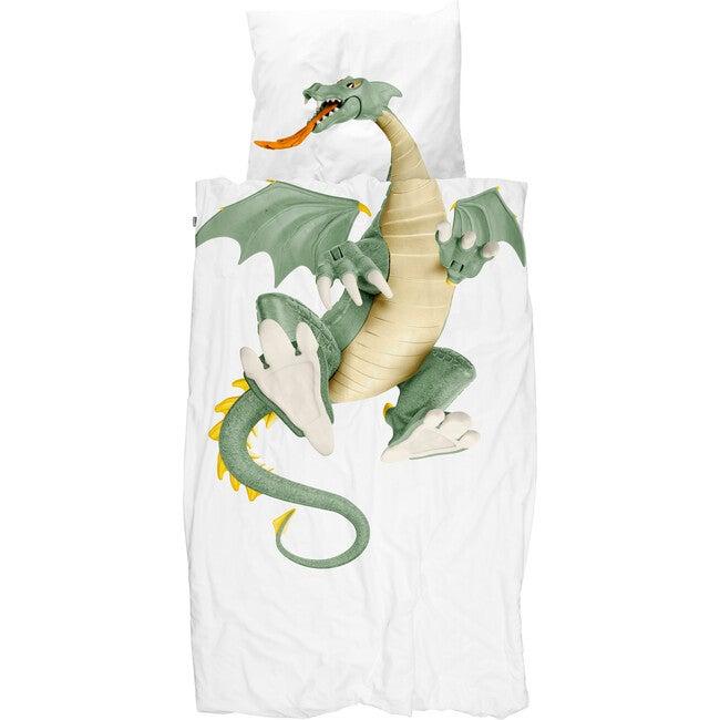*Exclusive* Dragon Duvet Set, Green