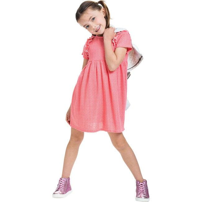 Helen Dress, Bandana Pink