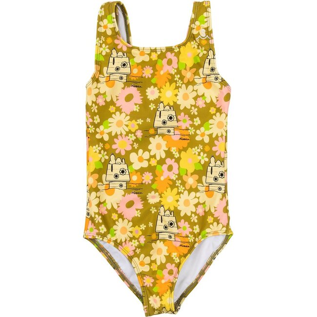 Girls Seaesta Surf x Peanuts® Ditsy Floral Swimsuit