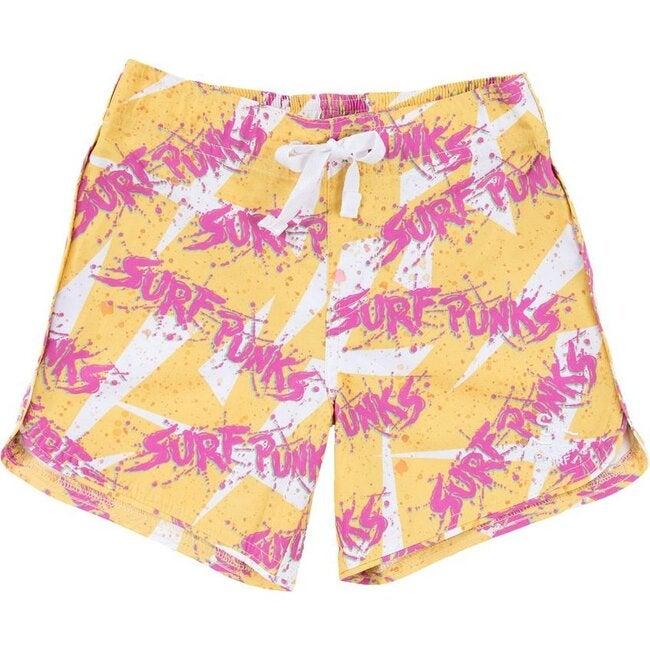 Seaesta Surf x Surf Punks Boardshorts, Valley Yellow