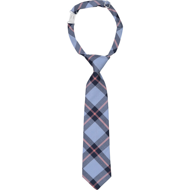 Tie, Blue Plaid