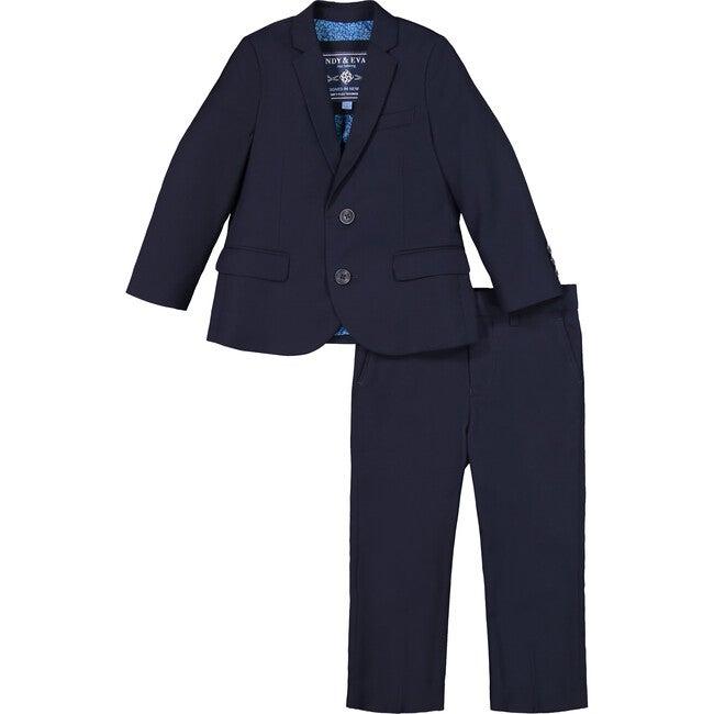 Two-Piece Suit Set, Dark Blue