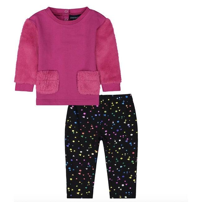 Sweater & Legging Set, Pink