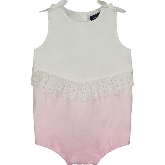 Baby Poplin Ombre Bubble, Pink Ombre