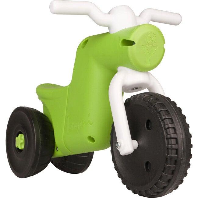 Toyni Tricycle Balance Bike, Green