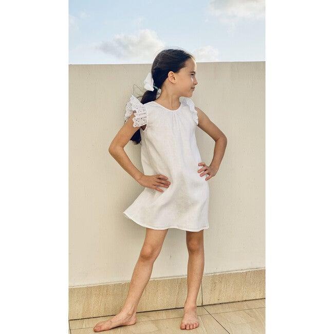 Suzanne Dress, White