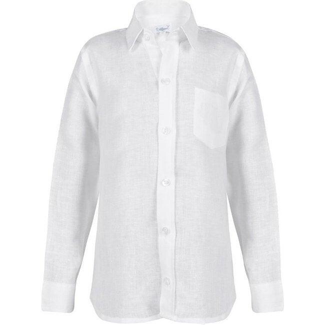 Samuel Boy Shirt, White