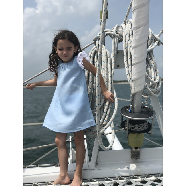 Suzanne Dress, Blue