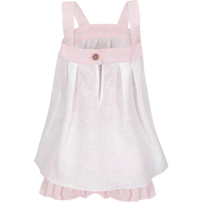 Bridgitte Set, White/Pink