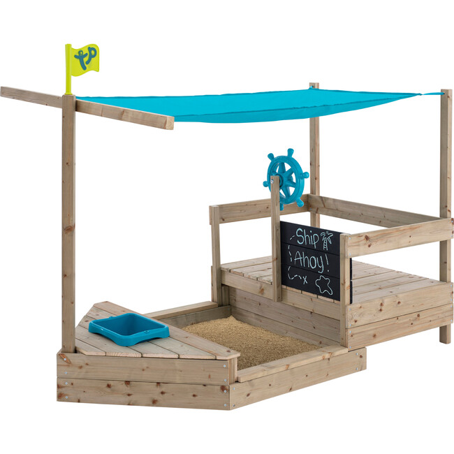 Ahoy Wooden Play Boat - Playhouses - 1