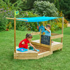 Ahoy Wooden Play Boat - Playhouses - 2