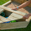 Ahoy Wooden Play Boat - Playhouses - 3