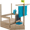 Ahoy Wooden Play Boat - Playhouses - 5