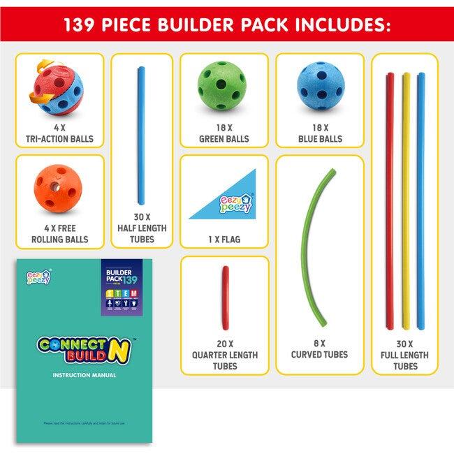 Connect N Build, 139 Pieces
