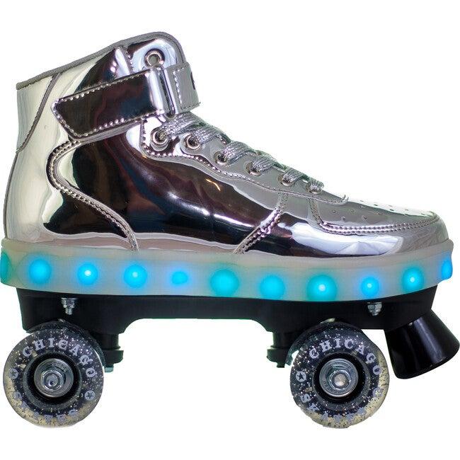 Pulse Sizzle Light-Up Skates, Silver