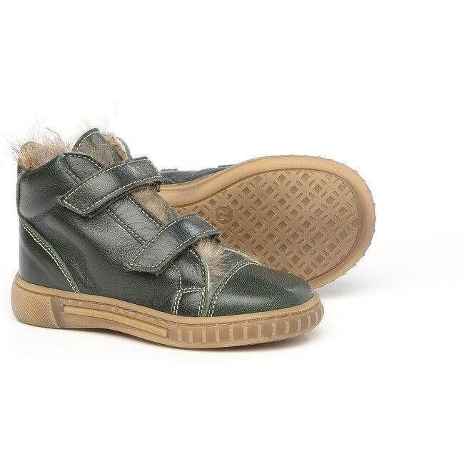 Velcro Strap Snekaers, Green