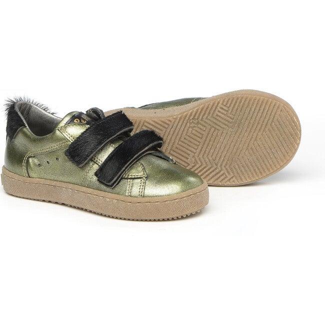 Double Velcro Strap Sneakers, Green