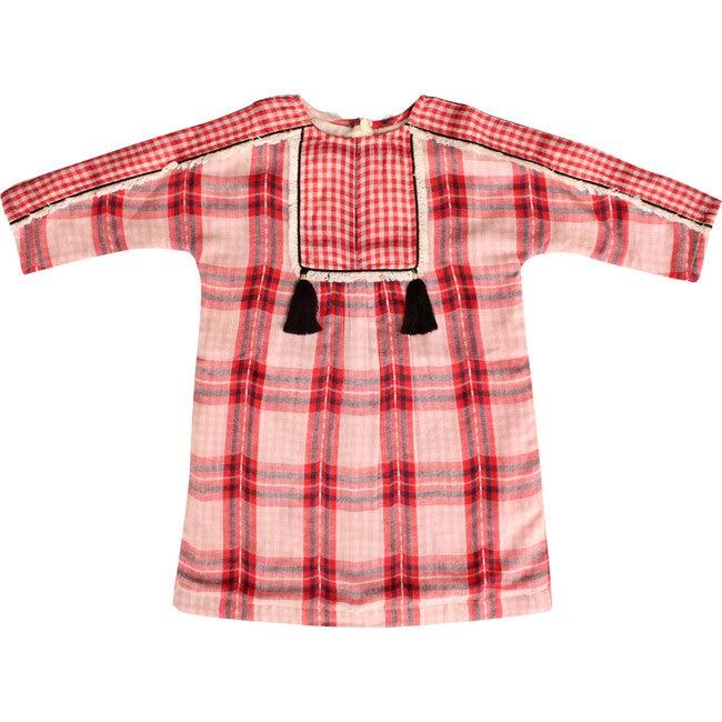 Juliette Dress, Red Checks