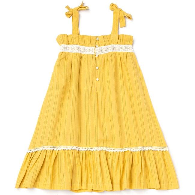 Jaipur Dress, Mustard