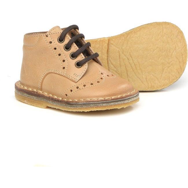 Lace-Up Shoes, Beige