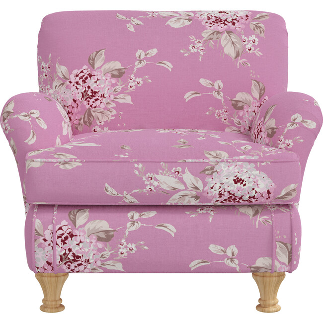 Sweet Pea Kids Chair, Berry Bloom Hot Pink
