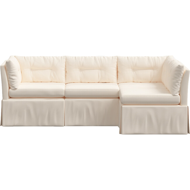 Octavia 4 Piece Sectional, Twill Natural