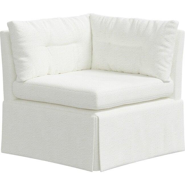 Octavia Corner Chair, Milano Snow