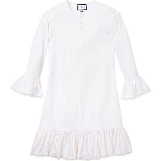 White Arabella Nightgown
