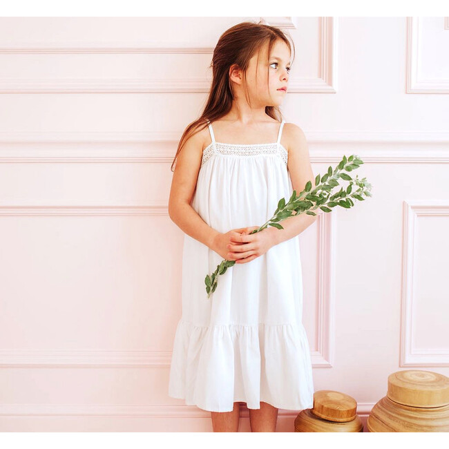 The Lily Nightgown, White