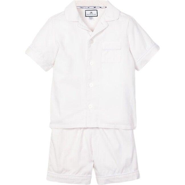Classic White Short Set