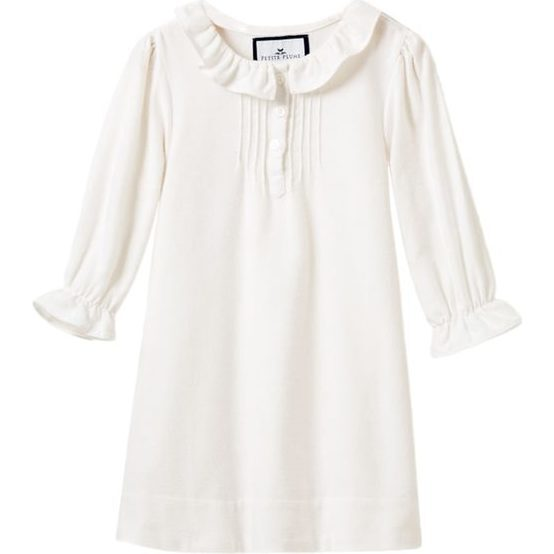White Victoria Nightgown