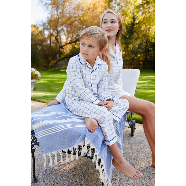 Pajama Set, Tattersall