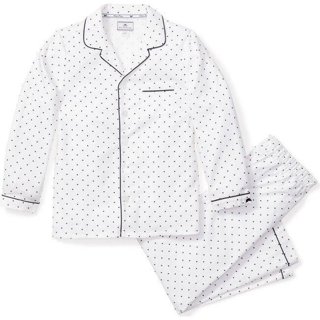 Kids Pajama Set, Pin Dots