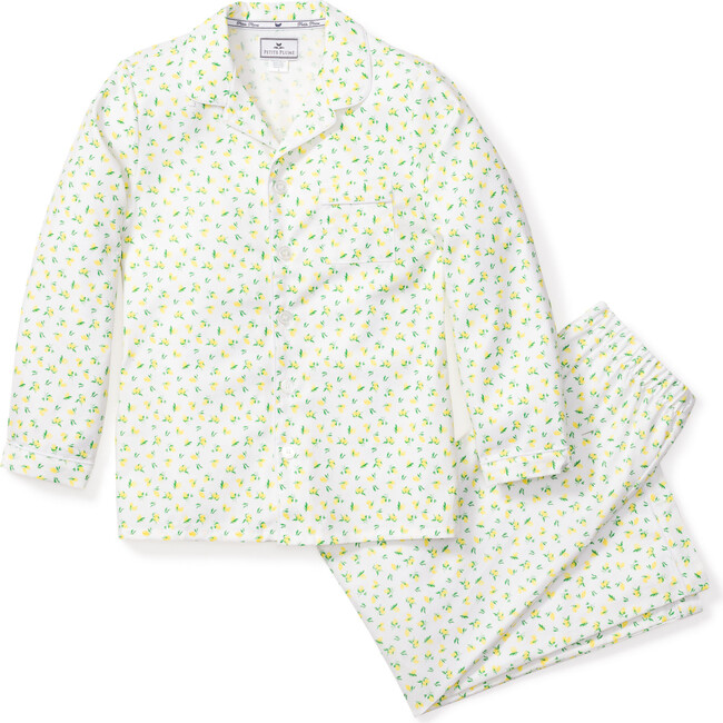Kids Pajama Set, Citron