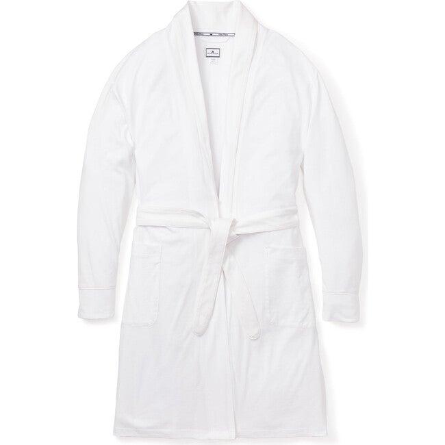 Women's Luxe Pima Cotton Robe, White