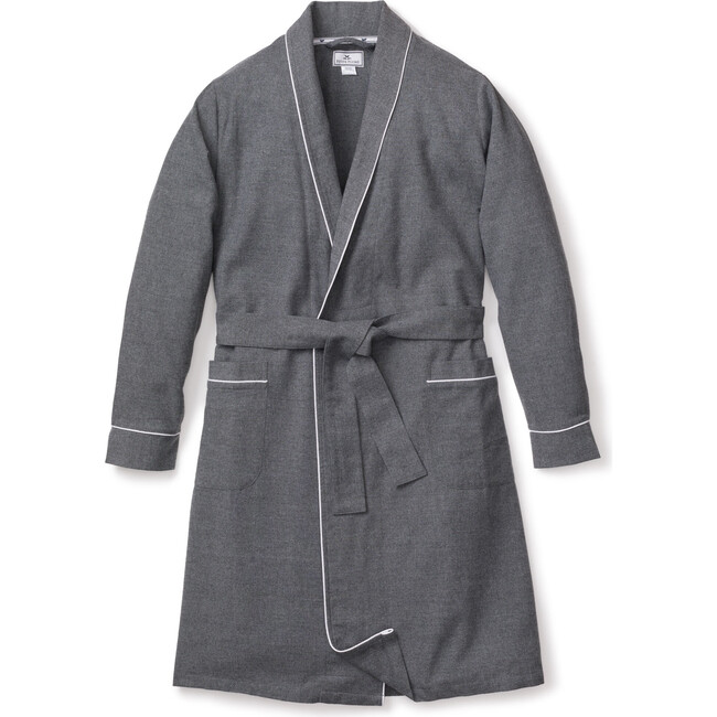 Women's Robe, Heather Grey Flannel