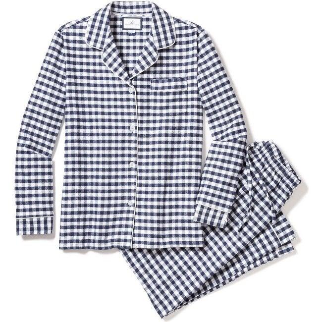 Men's Pajama Set, Navy Gingham