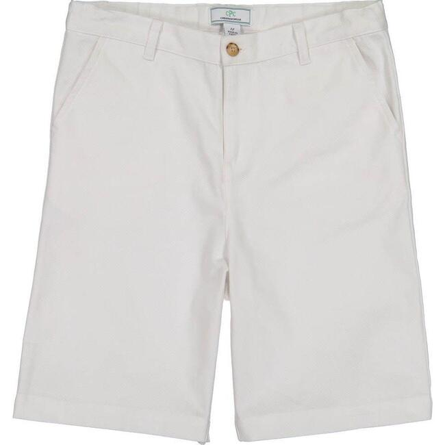 Hudson Short, Bright White