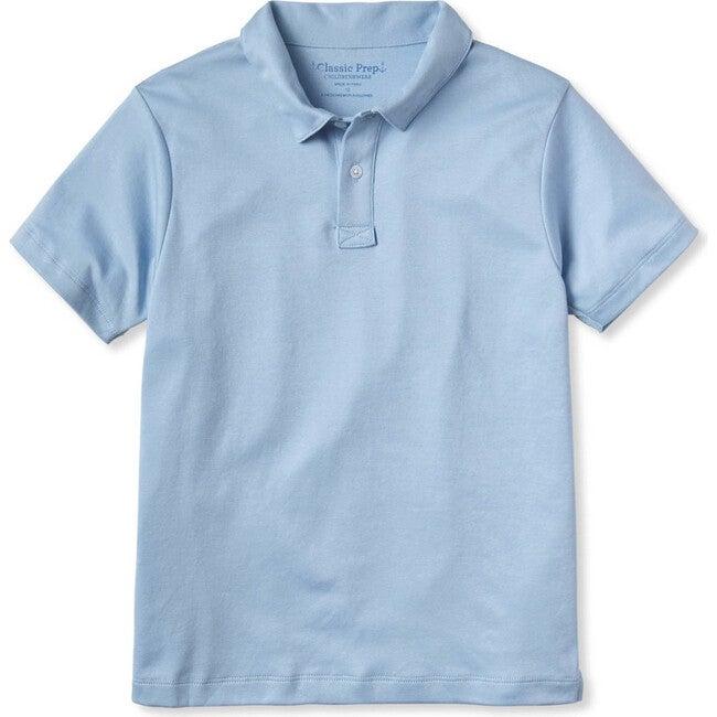 Henry Short Sleeve Polo, Placid Blue