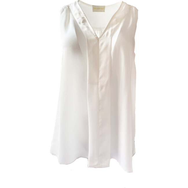 Women's Lily Top, White