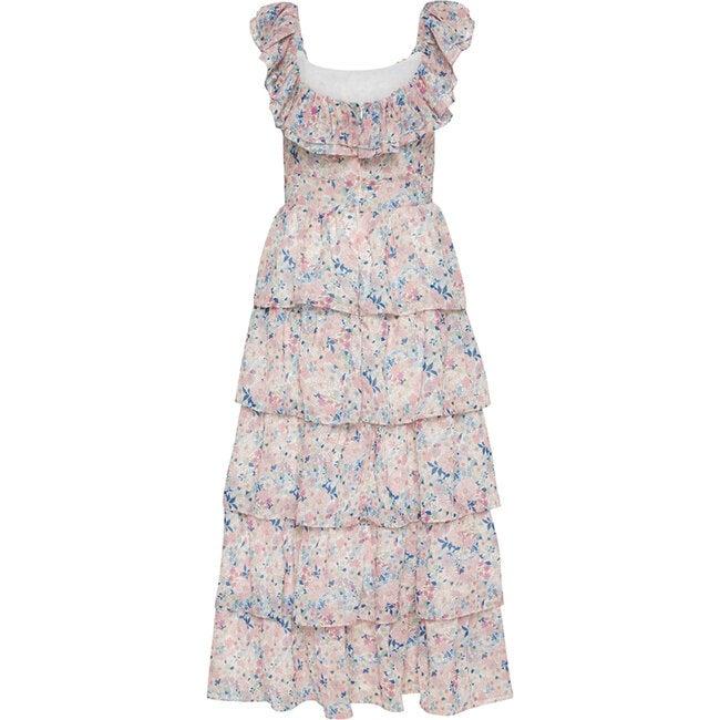 Women's Heather Floral Maxi Dress