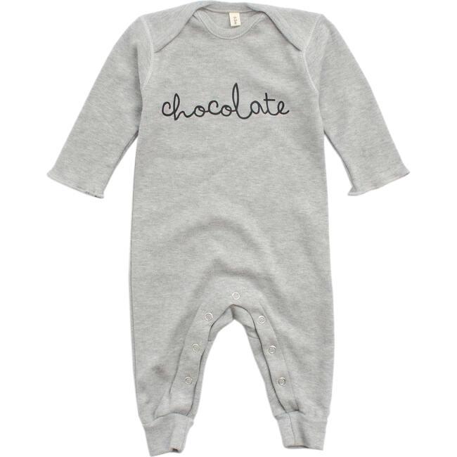 Chocolate Playsuit, Grey