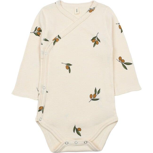 Wrapover Bodysuit, Olive Garden