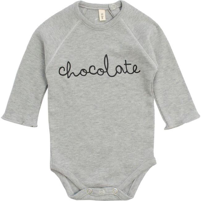 Chocolate Bodysuit, Grey